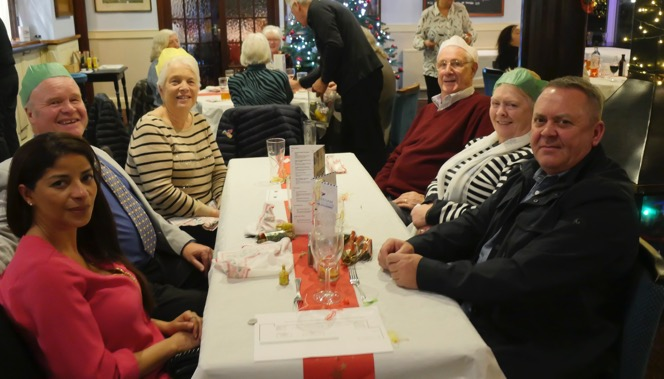 Xmas Draw P Greenways Table